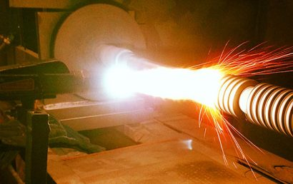 A Look At The Combustion Wire Spray Process