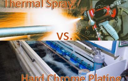 Thermal Spray vs. Hard Chrome Plating