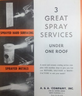 A & A Marketing Great Sspray Services-1970s