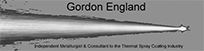 GORDON ENGLAND THERMAL SPRAY CONSULTANT