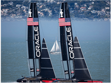 America's Cup Ship Piston Rods