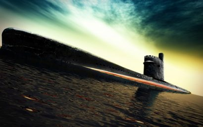 Superhydrophobic Coating Would Make Submarines Glide More Smoothly